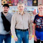 Віце-президент Всеукраїнської федерації хортингу Станіслав Федоров у Харкові
